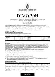 DIMO 30H - Dillinger Hütte GTS
