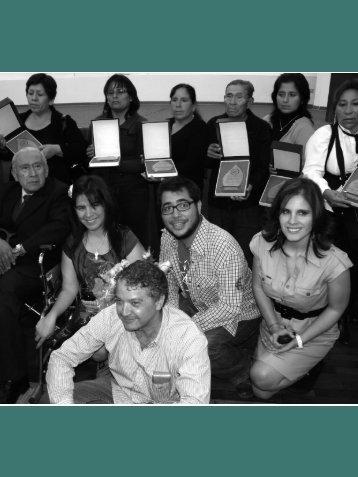II. Premios de Derechos Humanos 2011 - Coordinadora Nacional ...