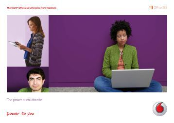 Enterprise? Download brochure now - Vodafone