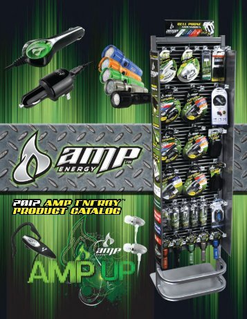 AMP ENERGY Catalogue - Hoffco Brands, Inc.