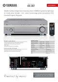 Wzmacniacz stereo AX-397 - AUDIO KLAN - Page 2