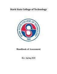 Assessment Handbook - Stark State College