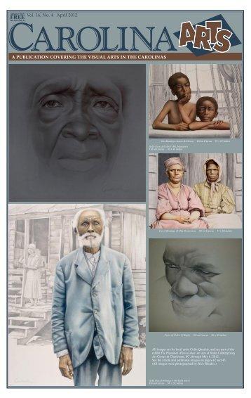 Vol. 16, No. 4 April 2012 - Carolina Arts