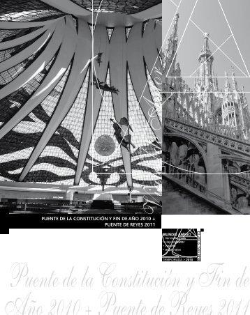 puente de la constitución y fin de año 2010 + puente de reyes 2011