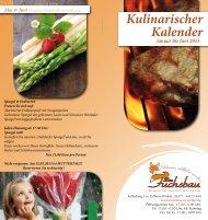 Kulinarischer Kalender - Zum Fuchsbau