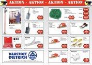 aktion - aktion - aktion - aktion - Baustoff Dietrich Gmbh & Co KG