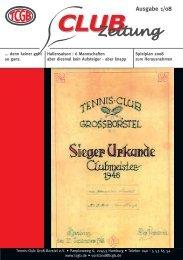 Ausgabe 1/08 (PDF) - Tennis Club Groß Borstel