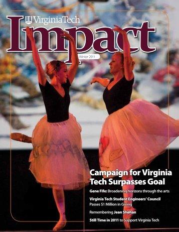 Impact - University Development - Virginia Tech