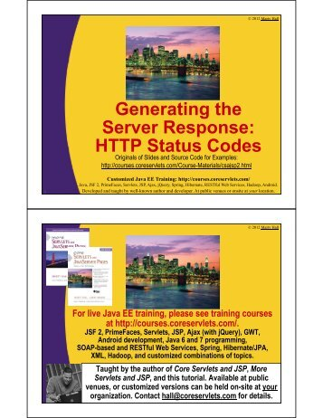 Status Codes - Java Programming