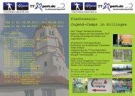 Tischtennis- Jugend-Camps in Dillingen - TT-Xpert GbR