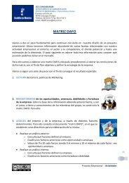Análisis DAFO. Objetivos y estrategias - PROYECTO ...
