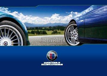 automotive masterpieces automotive masterpieces ... - bmw alpina