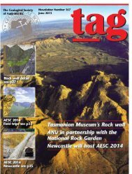 TAG 167 - Geological Society of Australia