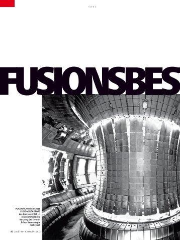 lichen kernenergie realistisch - Iter