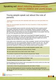 Young people speak out about the role of parents - Ccyp.wa.gov.au