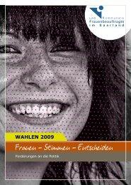 Frauen – Stimmen – Entscheiden - LAG Landesarbeitsgemeinschaft ...