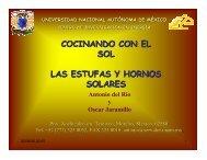 cocinando - C.I.E. - Universidad Nacional Autónoma de México