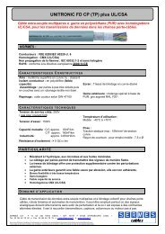 UNITRONIC FD CP (TP) plus UL/CSA - Sermes