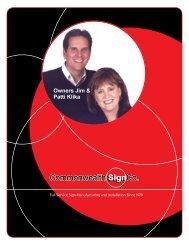 Owners Jim & Patti Klika - ThomasNet
