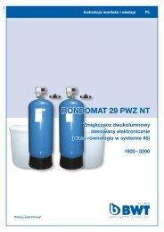 Rondomat 29 PWZ NT__instrukcja 2008 - BWT Polska