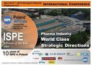 ISPE Poland International Conference - Olsa