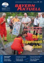 Bayern Aktuell 05/2011 - DLRG Bezirk Oberfranken