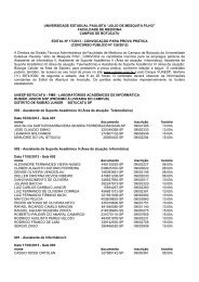 Edital de convocação para a prova prática do concurso público de ...