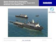 Damen Schelde Naval Shipbuilding?