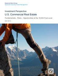 US Commercial Real Estate - Deutsche Insurance Asset ...