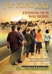 FZS - 2nd Quarter 2013 - Christian Friends of Israel
