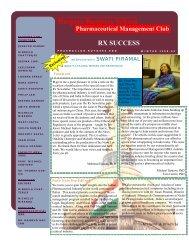 Rutgers Business School Pharmaceutical Management Club