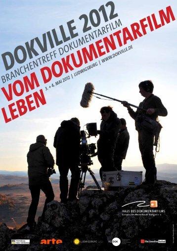 dokville 2012 branchentreff dokumentarfilm vom dokumentarfilm - 1blu