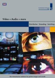 Video + Audio + more - Guntermann & Drunck Gmbh