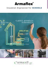 Armaflex - Insulation Engineered for Schools - Armacell