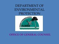 OGC Overview - Florida Department of Environmental Protection