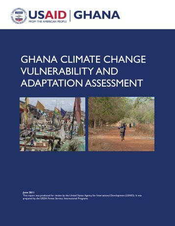 ghana climate change vulnerability and adaptation assessment