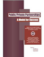 Public/Private Partnerships - Worksupport.com