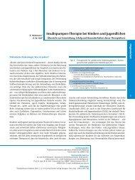 Insulinpumpen-Therapie bei Kindern und Jugendlichen - Accu-Chek