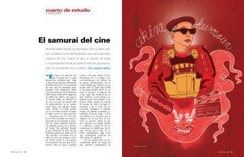 El samurai del cine