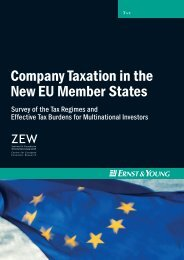Company Taxation in the New EU Member States