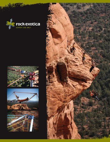 Rock Exotica 2011 Product Catalog (pdf) - Rescue Response Gear