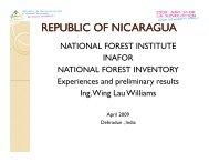 NFMA Country Presentation: Nicaragua, Kenya, Zambia - ICFRE