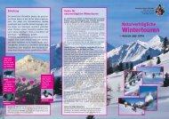 Naturverträgliche Wintertouren - Switzerland Tourism