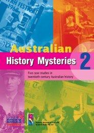 activity four - Australian History Mysteries