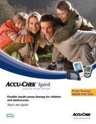 That's the Spirit! - ACCU-CHEK Insulin Pumps