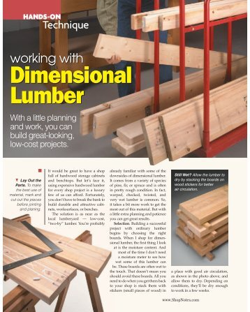 Dimensional Lumber - gerald@eberhardt.bz