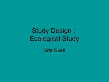 Studi ekologikal