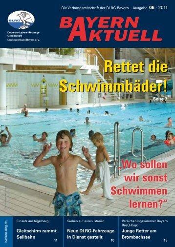 Bayern Aktuell 06/2011 - DLRG Bezirk Oberfranken