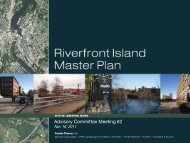 Advisory Committee Meeting #2 - Riverfront Island Master Plan