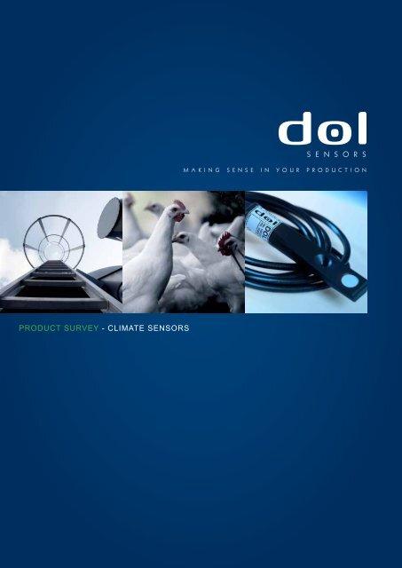 Product survey - climate sensors - Skov A/S